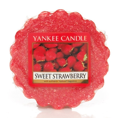 Vosk do aromalampy YANKEE CANDLE Sweet strawberry