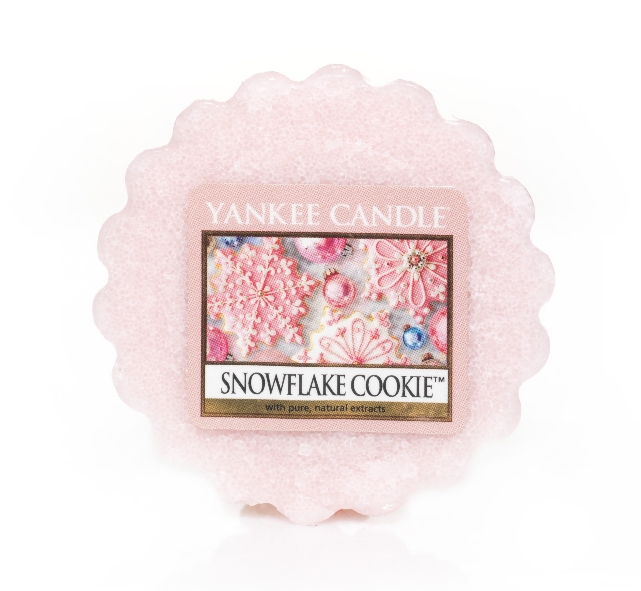 Vosk do aromalampy YANKEE CANDLE Snowflake Cookie