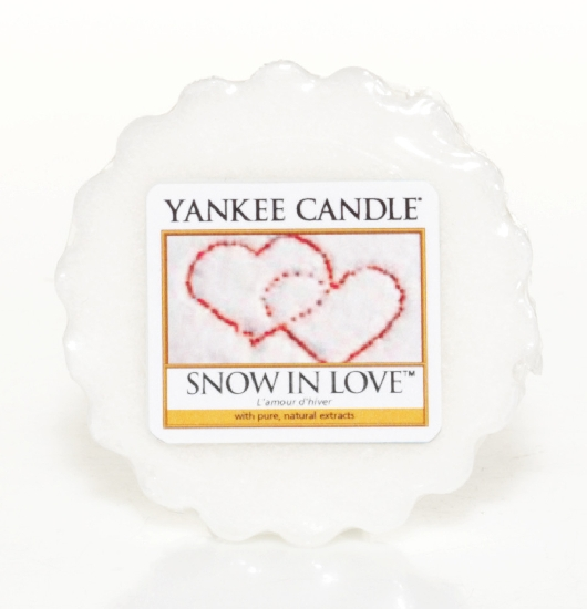 Vosk do aromalampy YANKEE CANDLE SNOW IN LOVE