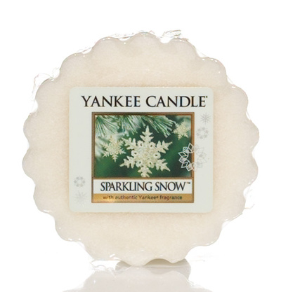 Vosk do aromalampy YANKEE CANDLE Sparkling Snow