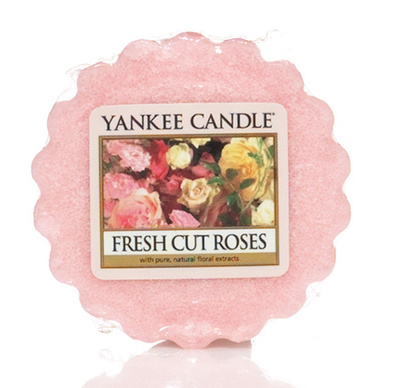 Vosk do aromalampy YANKEE CANDLE Fresh cut roses