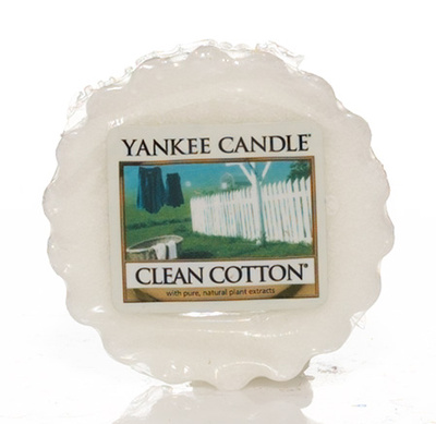 Vosk do aromalampy YANKEE CANDLE Clean cotton